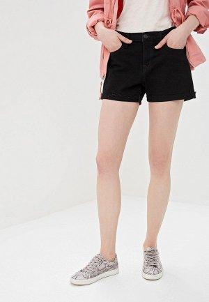 Шорты джинсовые Gap. Цвет: черный