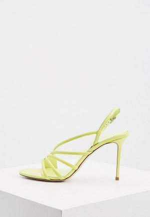 Босоножки Le Silla. Цвет: зеленый