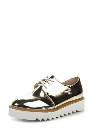Ботинки Coco Perla. Цвет: золотой