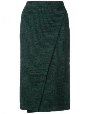 Юбка-карандаш Just Female. Цвет: зелёный