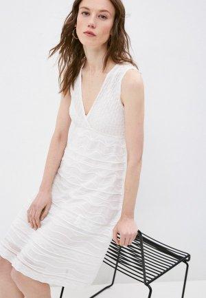 Платье M Missoni. Цвет: белый