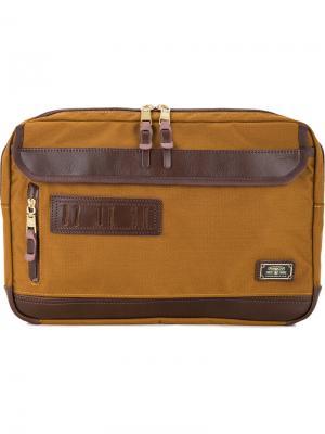 Чехол для ноутбука As2ov. Цвет: коричневый