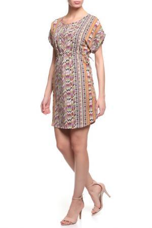 Платье La Reine Blanche. Цвет: оранжевый