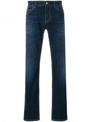 Слегка расклешенные джинсы Dolce & Gabbana. Цвет: синий