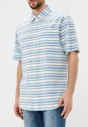 Рубашка Quiksilver. Цвет: голубой