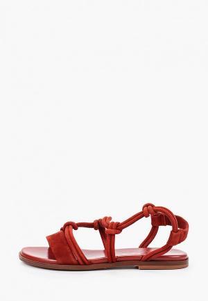 Сандалии Max&Co. Цвет: красный