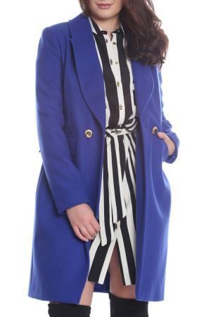 Coat BELLISSIMA. Цвет: blue