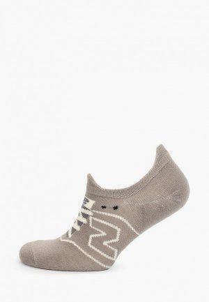Носки New Balance. Цвет: серый