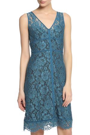 Платье CARACTERE. Цвет: синий