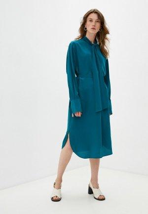 Платье Joseph. Цвет: бирюзовый