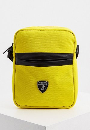 Сумка Automobili Lamborghini. Цвет: желтый
