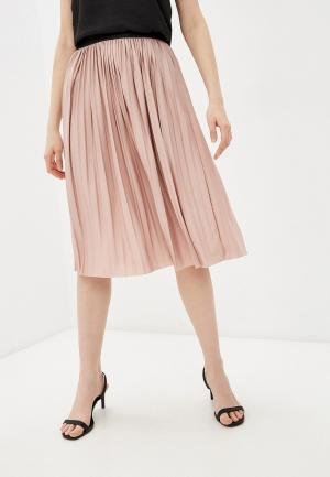 Юбка Jacqueline de Yong. Цвет: розовый