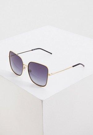 Очки солнцезащитные Boss. Цвет: золотой