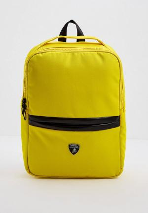 Рюкзак Automobili Lamborghini. Цвет: желтый