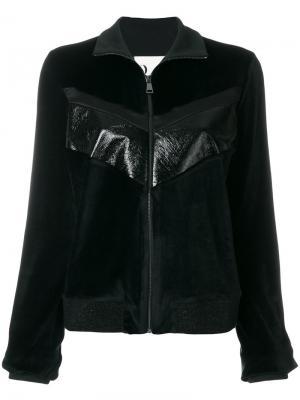 Куртка на молнии 8pm. Цвет: чёрный