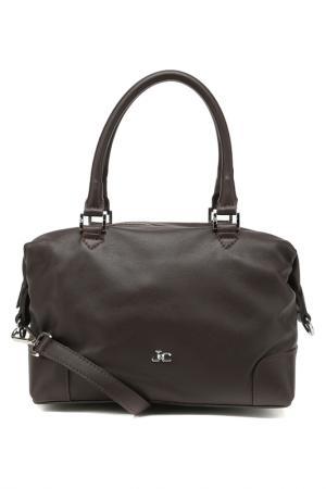 Сумка J&C JACKYCELINE. Цвет: d.brown