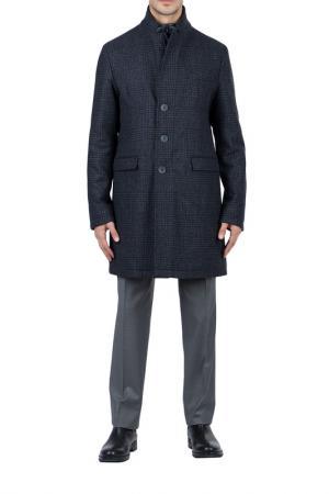 Пальто HERNO. Цвет: серый