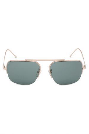 Солнцезащитные очки LOEWE. Цвет: серебряный