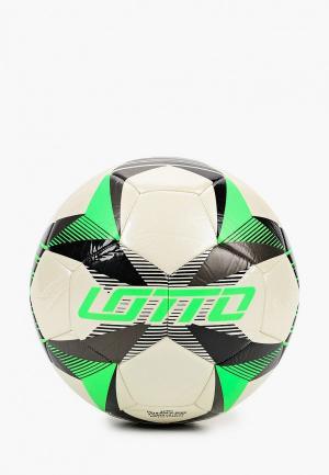 Мяч футбольный Lotto. Цвет: белый