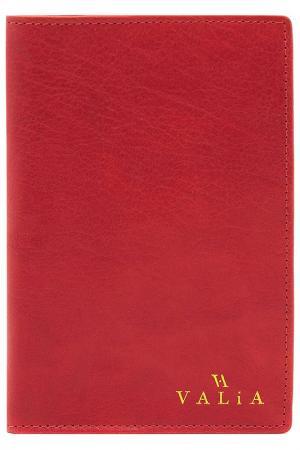 Обложка для документов VALIA. Цвет: красный