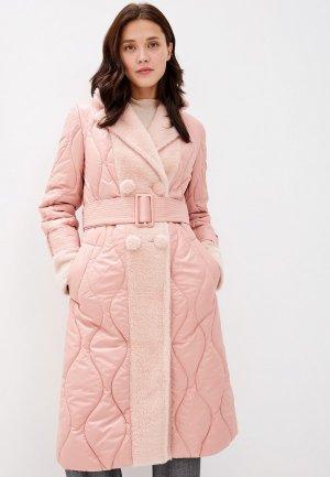 Куртка утепленная Grand Style. Цвет: розовый