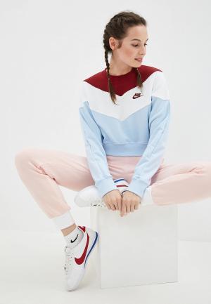 Свитшот Nike. Цвет: голубой