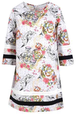 Платье DE SALITTO. Цвет: белый