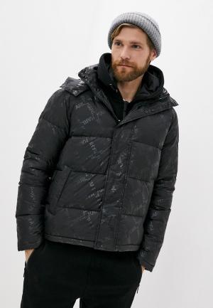 Пуховик Karl Lagerfeld. Цвет: черный