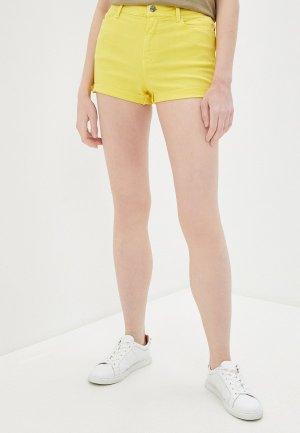 Шорты Karl Lagerfeld Denim. Цвет: желтый