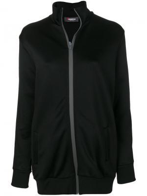 Куртка на молнии Jo No Fui. Цвет: чёрный