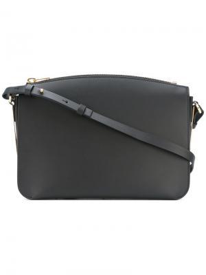 Большая сумка на плечо Arlington Sophie Hulme. Цвет: чёрный