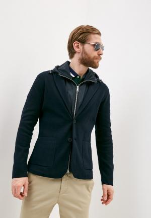 Пиджак и жилет Armani Exchange. Цвет: синий