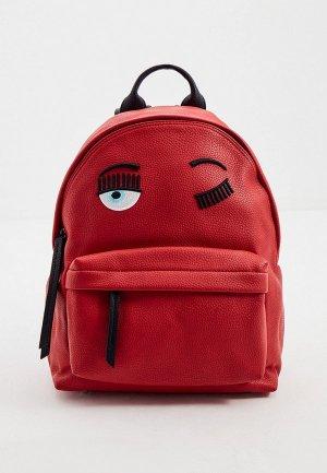 Рюкзак Chiara Ferragni. Цвет: красный