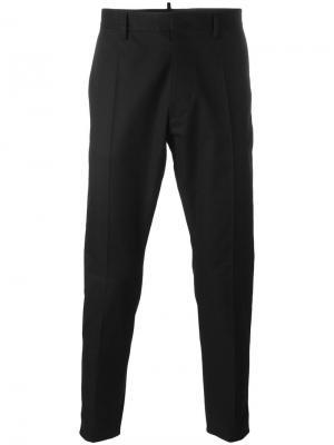 Классические брюки Dsquared2. Цвет: чёрный