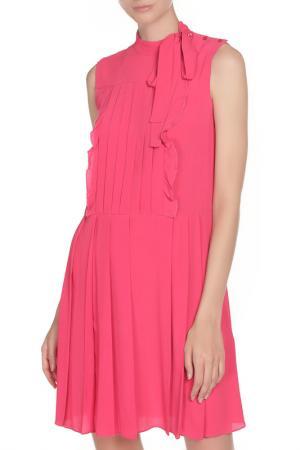 Платье Cacharel. Цвет: малиновый