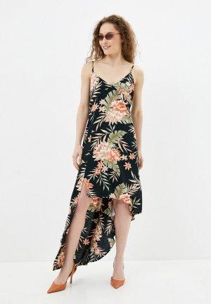 Платье Billabong. Цвет: черный