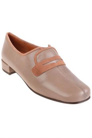 Туфли CHIE MIHARA. Цвет: бежевый