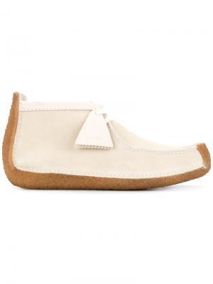 Ботинки-дезерты Lemaire. Цвет: белый