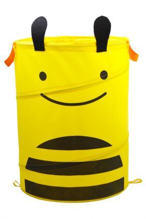 Корзина для хранения «ПЧЕЛКА» BRADEX. Цвет: желтый