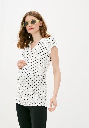 Блуза Envie de Fraise. Цвет: белый