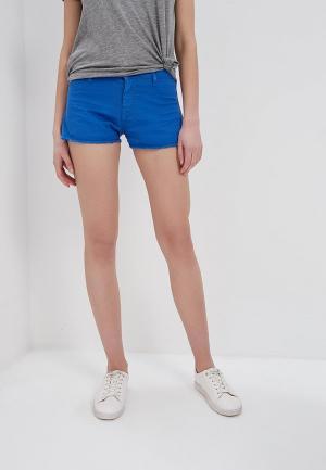 Шорты джинсовые Met. Цвет: синий
